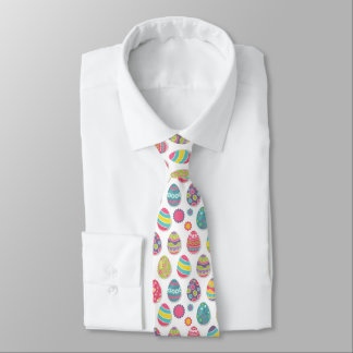 Easter Egg Themed Tie | Easter Attire