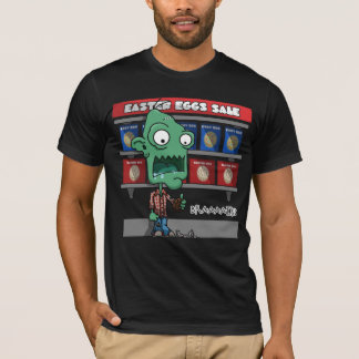 Easter Egg Zombie Mens Tee