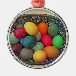 Easter Eggs2 Christmas Ornament