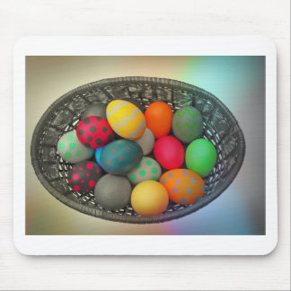 Easter Eggs2 Mouse Mat