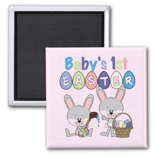 Easter Eggs 1st Easter T-shirts and Gifts Square