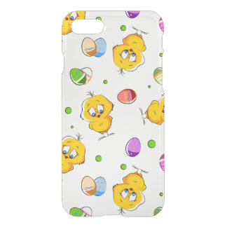 Easter Eggs & Baby Chicks iPhone 7 Case