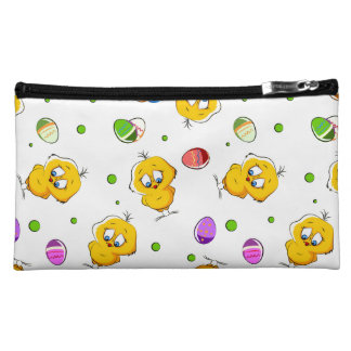 Easter Eggs & Baby Chicks Makeup Bags