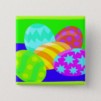 Easter Eggs - Button