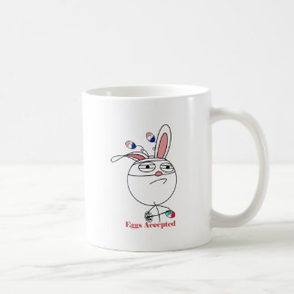 Easter Eggs Challenge Accepted Coffee Mugs