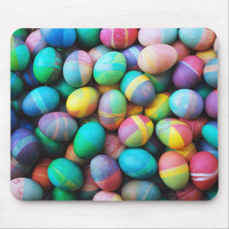 Easter eggs mouse pad