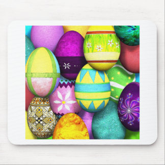 Easter Eggs Mouse Pads