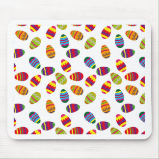 Easter eggs pattern mouse pad