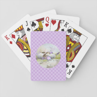 Easter Eggs Playing Cards