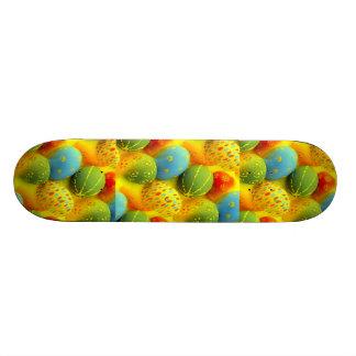 Easter eggs skate board