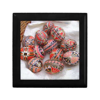 Easter Eggs Small Square Gift Box