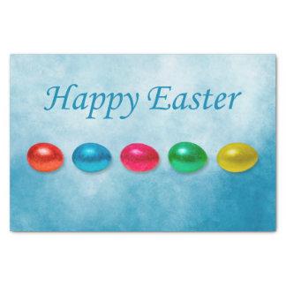 Easter eggs tissue paper