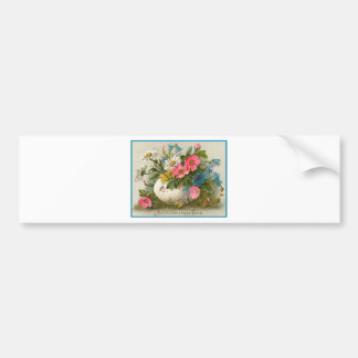 Easter Flowers Bumper Stickers