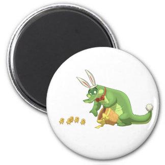 Easter Gator Magnet