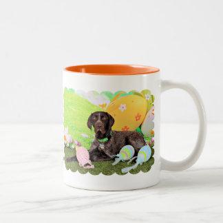 Easter - German Shorthair Pointer - Kaiser Coffee Mug