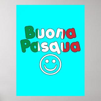 Easter Gifts for Italian Speakers Buona Pasqua Print