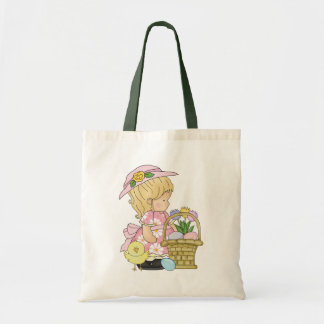 Easter Girl Holiday tote bag