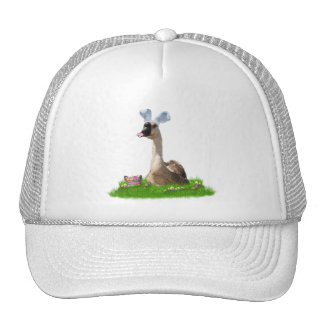 Easter Goose w/Colored Eggs & Basket Trucker Hats