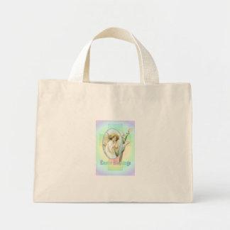 EASTER GREETINGS by SHARON SHARPE Mini Tote Bag