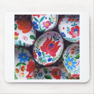 Easter greetings kalocsai eggs mouse pad