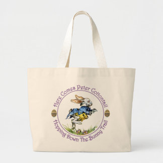 Easter - Here Comes Peter Cottontail Tote Bags