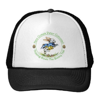 EASTER - Here Comes Peter Cottontail Trucker Hats