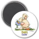 Easter Honey Bunny 7.5 Cm Round Magnet