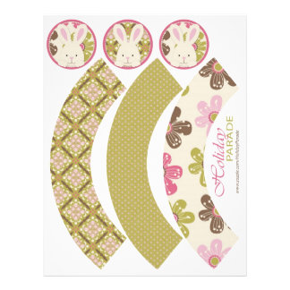 Easter Hunt Cupcake Wrappers 2 21.5 Cm X 28 Cm Flyer