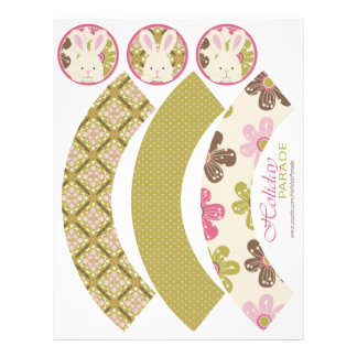 Easter Hunt Cupcake Wrappers 21.5 Cm X 28 Cm Flyer