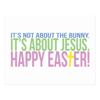 Easter is About Jesus Postcard