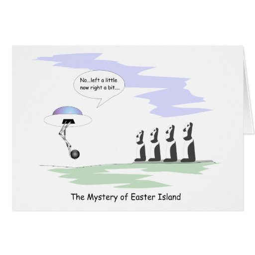 Easter Island Cards
