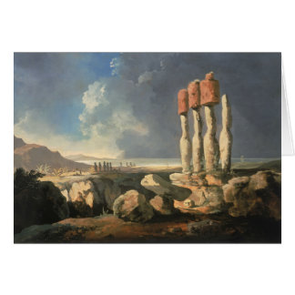 Easter Island, Chile Greeting Card