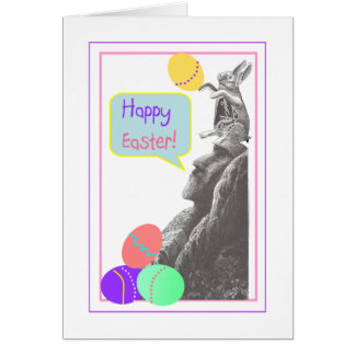easter island easter card
