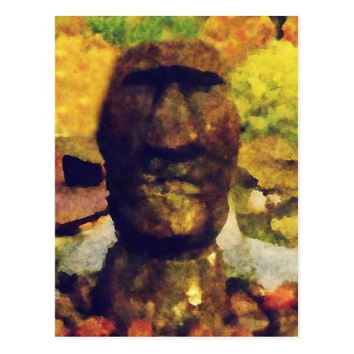 Easter Island Head Statue Post Cards