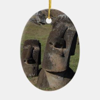 Easter Island Heads Christmas Ornament