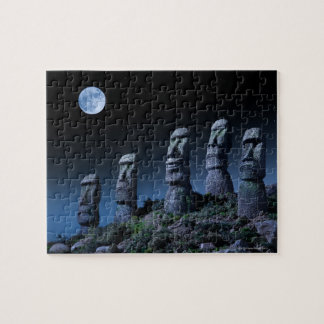 Easter Island Heads Jigsaw Puzzle