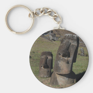 Easter Island Heads Key Ring