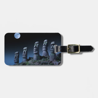 Easter Island Heads Luggage Tag