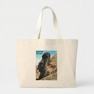 Easter Island Jumbo Tote Bag