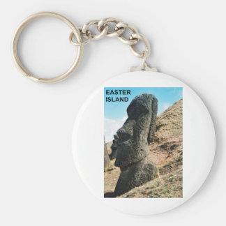 Easter Island Key Ring