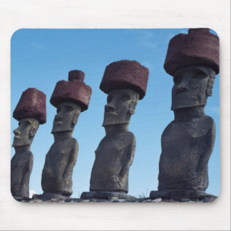 Easter Island Mouse Mat