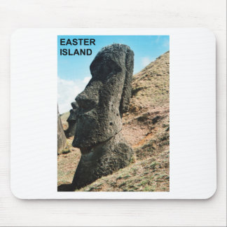 Easter Island Mouse Pad