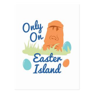 Easter Island Postcard