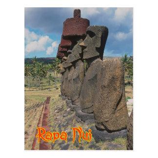 Easter island ( Rapa Nui) Chile Post Card