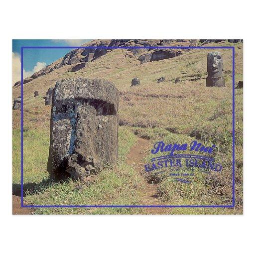 Easter island (Rapa Nui) Chile Postcards