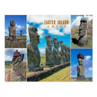 Easter Island (Rapa Nui), Chile Postcard