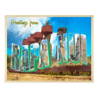 Easter island ( Rapa Nui ) Postcard