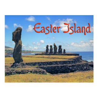 Easter island ( Rapa Nui) Postcards