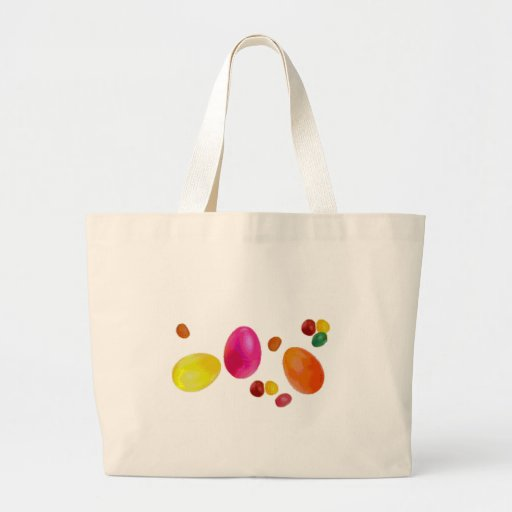 Easter Jelly Beans Canvas Bag