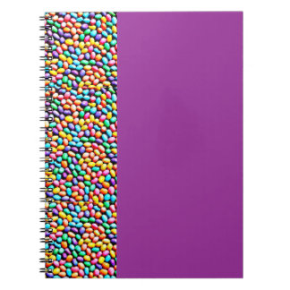 Easter Jelly Beans Spiral Notebook